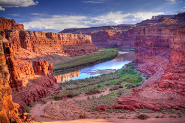 Papiers peints Parc Naturel Colorado River at Canyonlands National Park