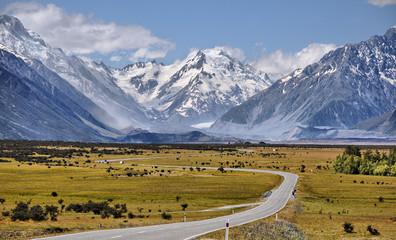 Keuken foto achterwand Nieuw Zeeland Route du Mont Cook - New Zealand