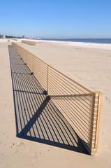 Beach Erosion Control Fence