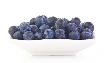 Dish of Blueberrys