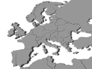 Mapa Europy 2