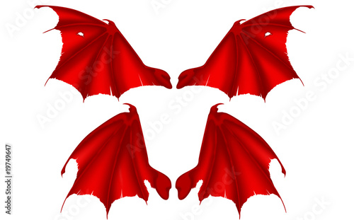 "Aile Demon ailes de diable"" stock photo and royalty-free images on fotolia"