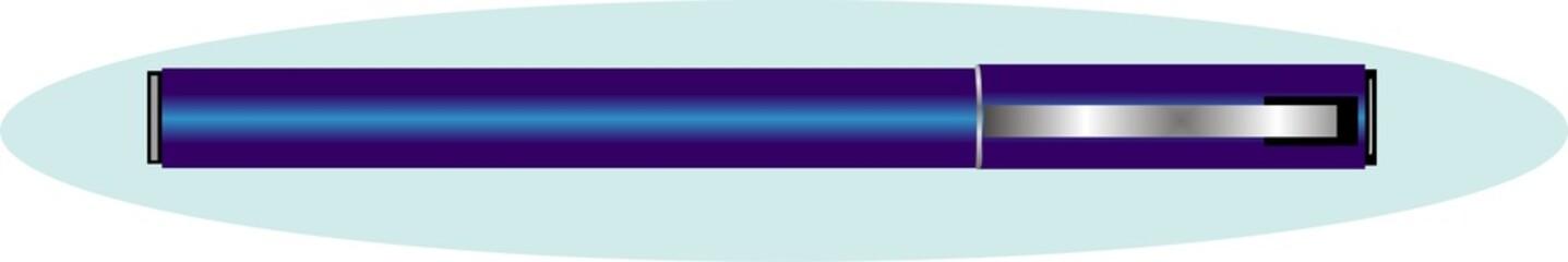 Illustration of Fountain pen
