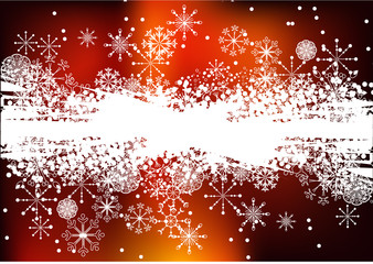 Christmas dark red background