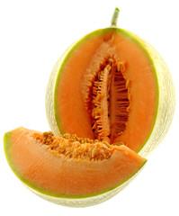 melon fond blanc