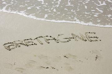 bretagne sur sable