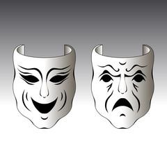 Zwei Masken