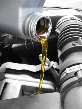 Troca e óleo