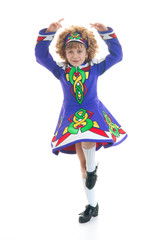 Young Irish dancer