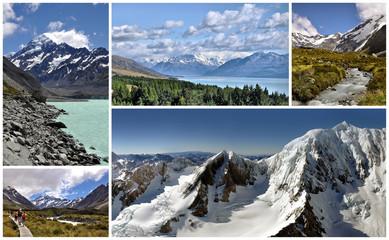 Région du Mont Cook - New Zealand