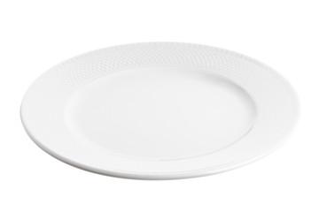 plate at angle
