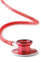 Rotes Stetoskop