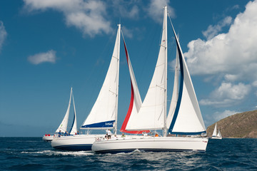 Classic Yacht Races in Antigua