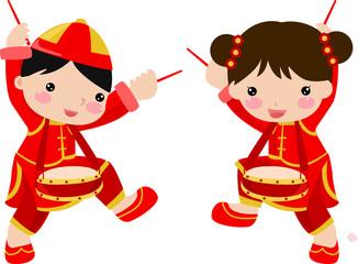 New Year Greetings_children