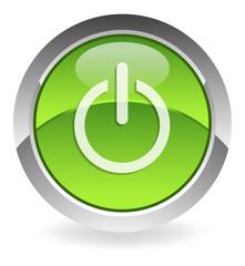 green power-button