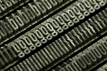 Printing letters