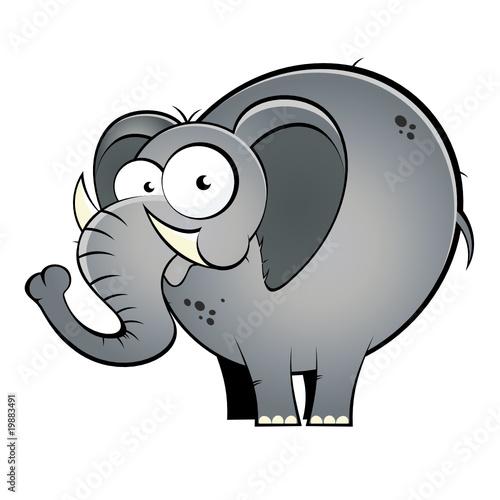 elefant cartoon lustig maskottchen stockfotos und lizenzfreie vektoren auf bild. Black Bedroom Furniture Sets. Home Design Ideas