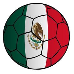 balón bandera selección México
