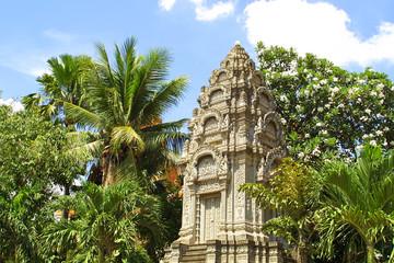 Khmer temple in Pnom Penh, Cambodia