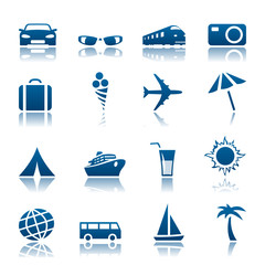 Travel & tourism icon set