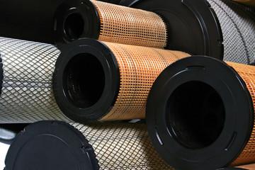 Brand new automotive oil filter cartridge