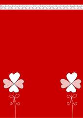 Rote Glückskarte