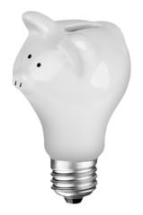 lightbulb Piggybank
