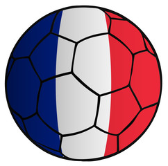 balón bandera selección de francia