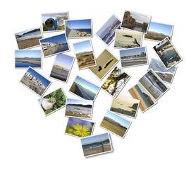 corazón fotográfico