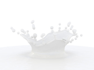 Milk Splash.