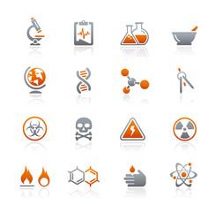Graphite Icons  //  Science