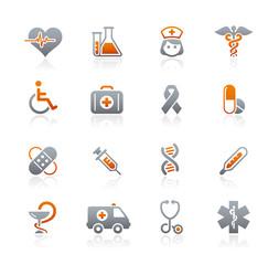 Graphite Icons  //  Medicine & Heathcare