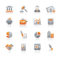 Graphite Icons  //  Business & Finance