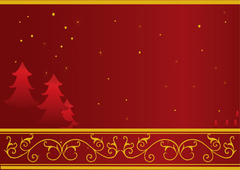 Christmas or New Year card