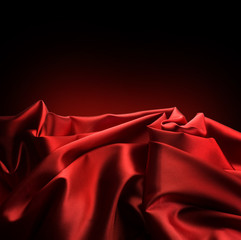 Red Satin Border