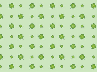 """Pattern """"Four Leaf Clover"""" (chance luck fortune good)"""