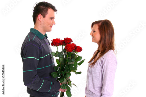 Valentinstag Verliebtes Paar Stock Photo And Royalty Free Images On