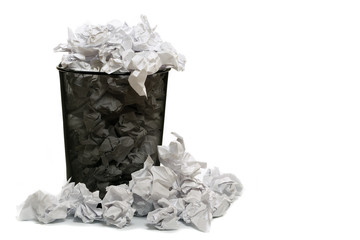 Ablage Papierkorb