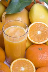 Fuites et vitamines - jus de fruits