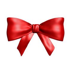 Red bow,  ribbon
