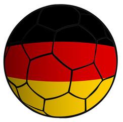 Balón bandera selección Alemania