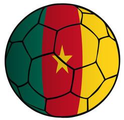 Balón bandera Selección Camerun