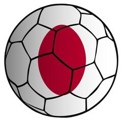 Balón bandera selección Japón