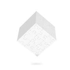 Cube of puzzles