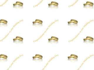 """""""Congratulations on your Wedding Day"""" Pattern"""