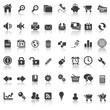 48 icons set 1 website & business