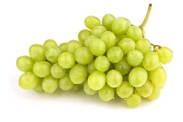 Weintrauben isolated auf weißem Hintergrund mit Schatten