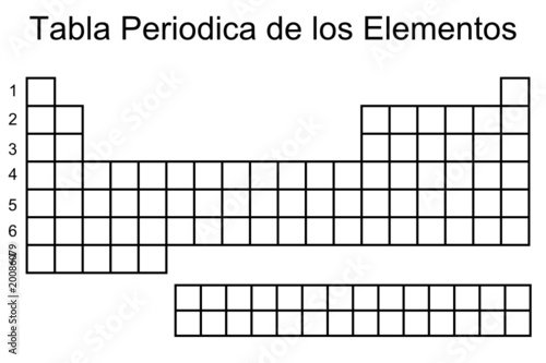 Tabla periodica de los elementos stock image and royalty free tabla periodica de los elementos urtaz
