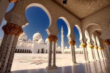 Scheich Zayed Moschee in Abu Dhabi XX