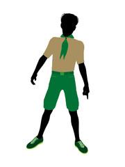 Boyscout Illustration Silhouette